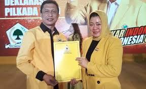 Photo of Kantongi B1KWK Golkar, AIZ-Risma Lancar Untuk Daftar KPU