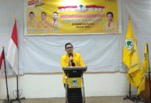 Photo of Ketua Harian Golkar Palembang Targetkan Menangkan Airlangga Hartarto Capres 2024