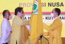 Photo of Airlangga Hartarto Lantik 111 Pengurus DPD Golkar NTB Periode 2021-2025