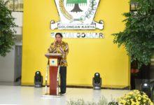Photo of HUT ke-57 Partai Golkar, Airlangga Minta Kader Makin Kompak dan Solid