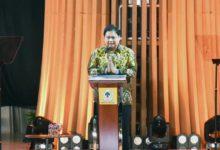 Photo of Pidato HUT ke-57 Golkar, Airlangga Hartarto: 2024 Kita Harus Menang